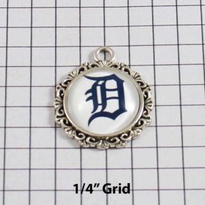Detroit Tigers Wedding Garter / MLB / Baseball - Charm-581 / Wedding Garters / Bridal Garter / Prom Garter / Linda Joyce Couture