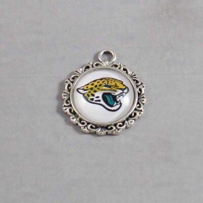Jacksonville Jaguars Wedding Garter / NFL / Football - Charm 616  / Wedding Garters / Bridal Garter / Prom Garter / Linda Joyce Couture