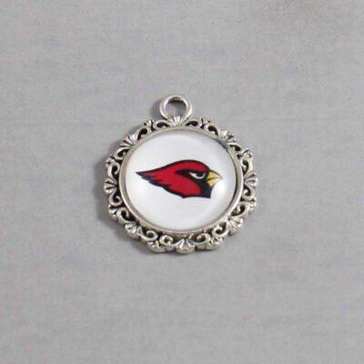 Arizona Cardinals Wedding Garter / NFL / Football - Charm 618 / Wedding Garters / Bridal Garter / Prom Garter / Linda Joyce Couture