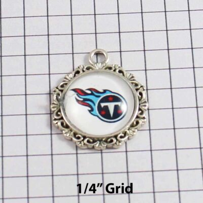 Tennessee Titans Wedding Garter / NFL / Football - Charm 621 / Wedding Garters / Bridal Garter / Prom Garter / Linda Joyce Couture