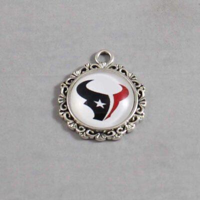 Houston Texans Wedding Garter / NFL / Football - Charm 624 / Wedding Garters / Bridal Garter / Prom Garter / Linda Joyce Couture