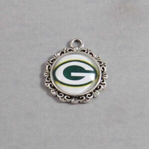 Green Bay Packers Wedding Garter / NFL / Football - Charm-631 / Wedding Garters / Bridal Garter / Prom Garter / Linda Joyce Couture