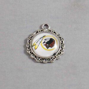 Washington-Redskins-Wedding-Garter / RETIRED / Vintage / NFL / Football - Charm-633 / Wedding Garters / Bridal Garter / Prom Garter / Linda Joyce Couture