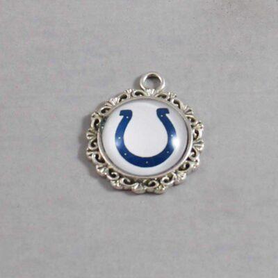 Indianalopis Colts Wedding Garter / NFL / Football - Charm 640 / Wedding Garters / Bridal Garter / Prom Garter / Linda Joyce Couture