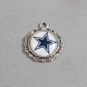 Dallas Cowboys Wedding Garter / NFL / Football - Charm-641 / Wedding Garters / Bridal Garter / Prom Garter / Linda Joyce Couture