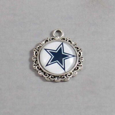 Dallas Cowboys Wedding Garter / NFL / Football - Charm 641 / Wedding Garters / Bridal Garter / Prom Garter / Linda Joyce Couture