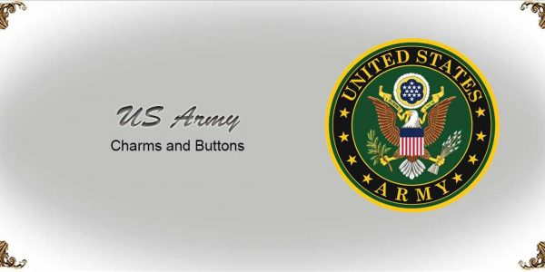 US Army Charms and Buttons