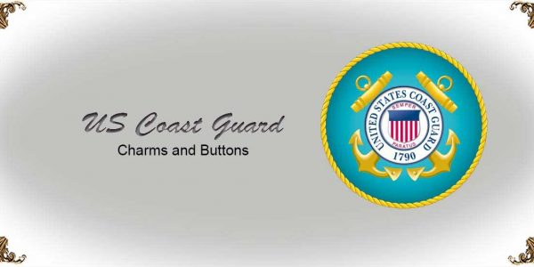 US Coast Guard Charms and Buttons